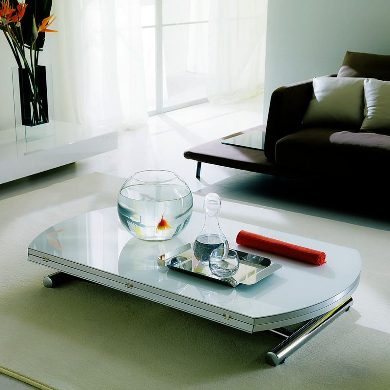 Table transformable GLOBE Ozzio