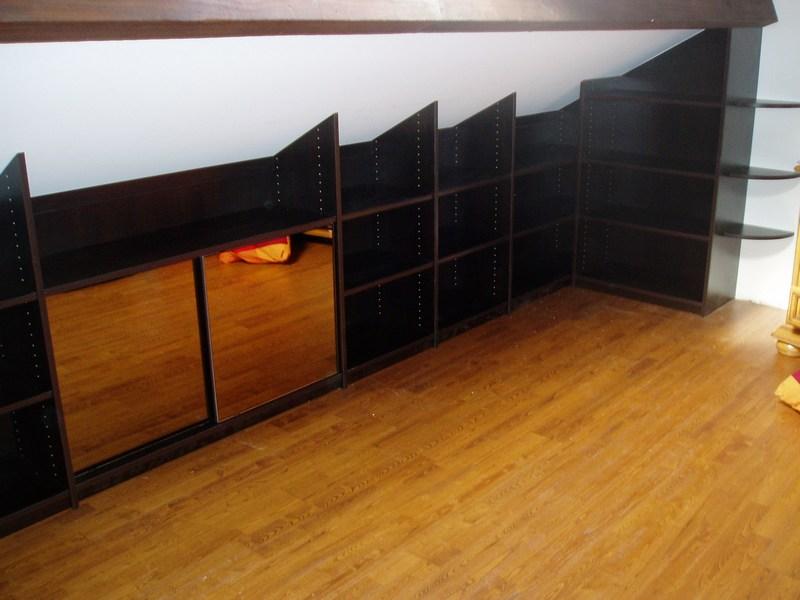 placard sous pente sur mesure nantes rangeocean. Black Bedroom Furniture Sets. Home Design Ideas