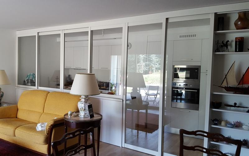 Portes et fenêtres coulissantes de séparation