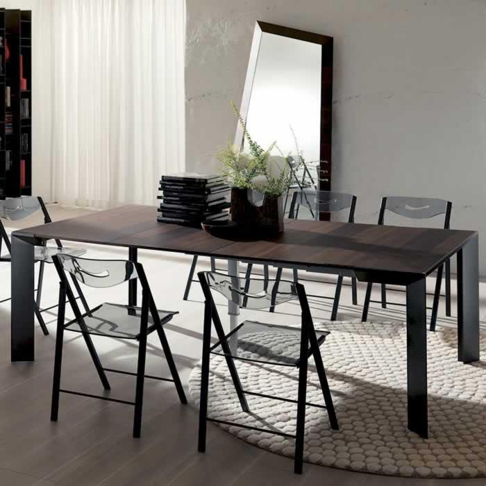 Table console extensible modèle Metro Xelle