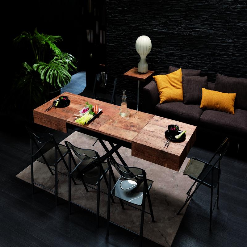 Table escamotable modèle box legno