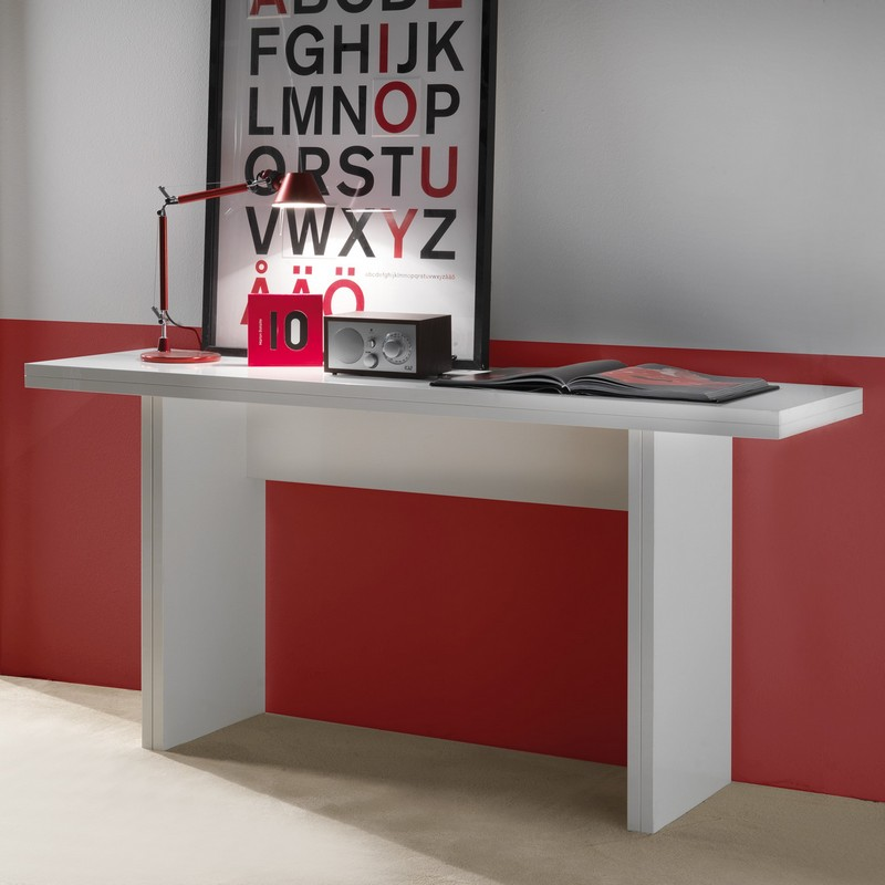 Table console escamotable modèle Avalon