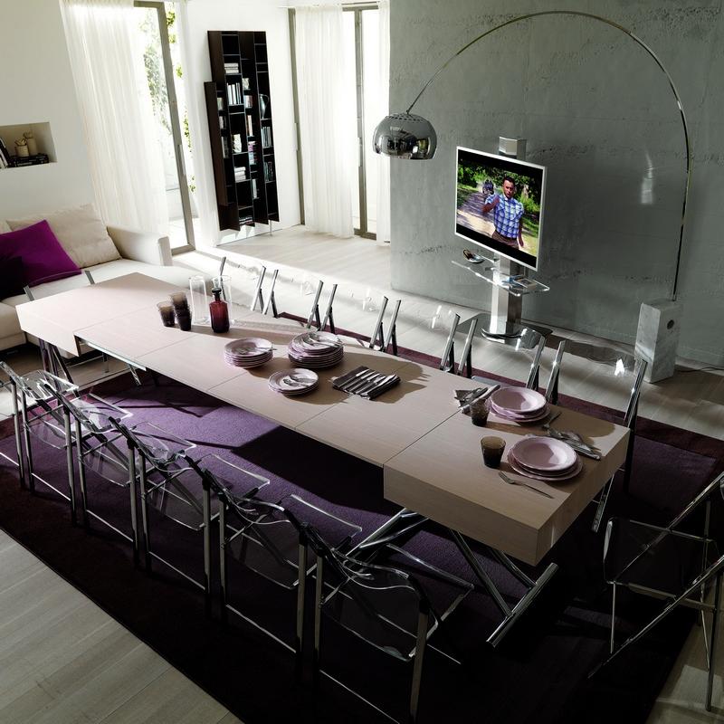 Table basse relevable modèle Magnum Legno
