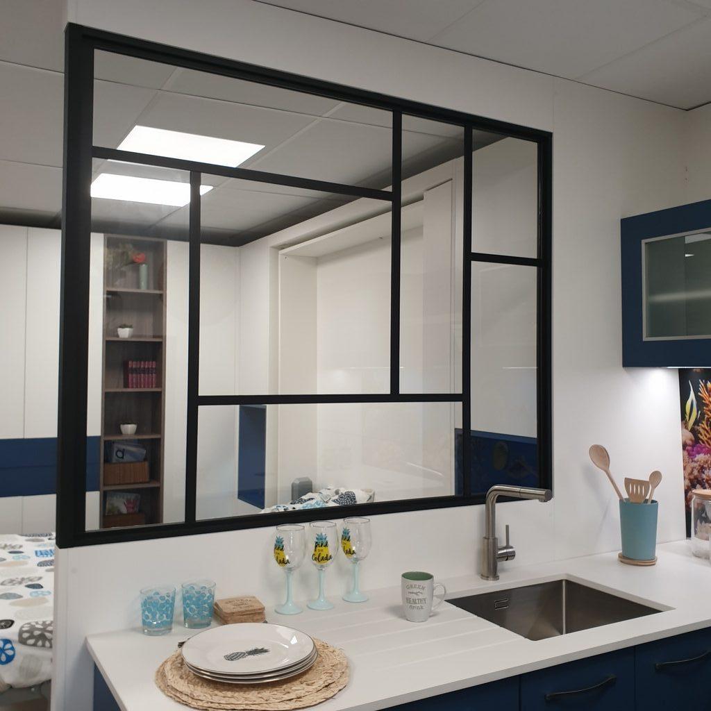 Atelier De La Cuisine Nantes séparation intérieure style verrière atelier à nantes